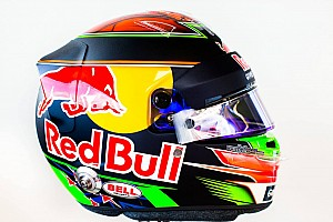 Formule 1 Diaporama Photos - Le casque de Brendon Hartley