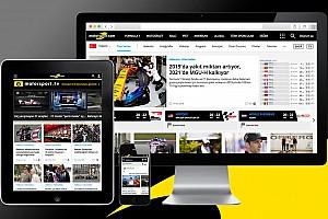 GENEL Son dakika Motorsport.com daha kullanışlı ve hızlı tasarıma geçiyor