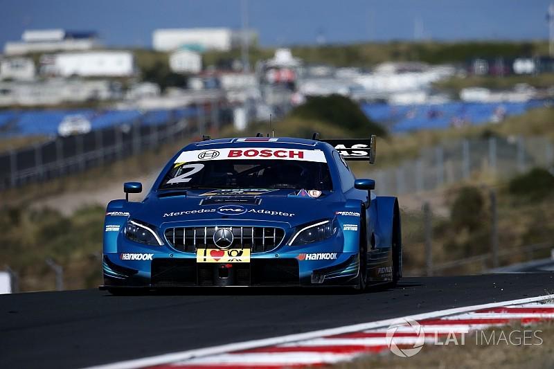 Zandvoort DTM: Paffett extends points lead with win