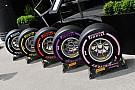 Formule 1 Pirelli overweegt namen van F1-compounds te vereenvoudigen