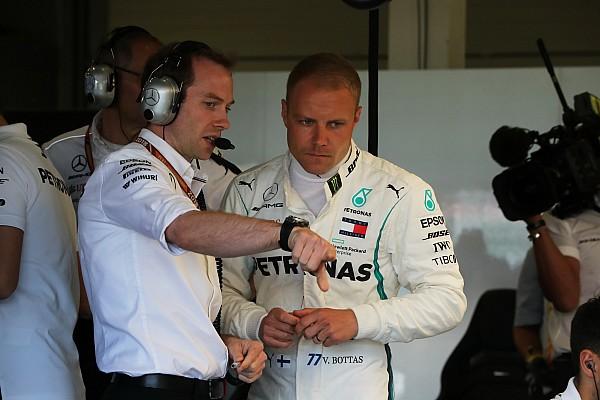 Bottas on Mercedes'