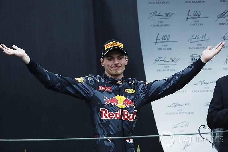 Verstappen, listo para luchar por el título con Hamilton en 2018