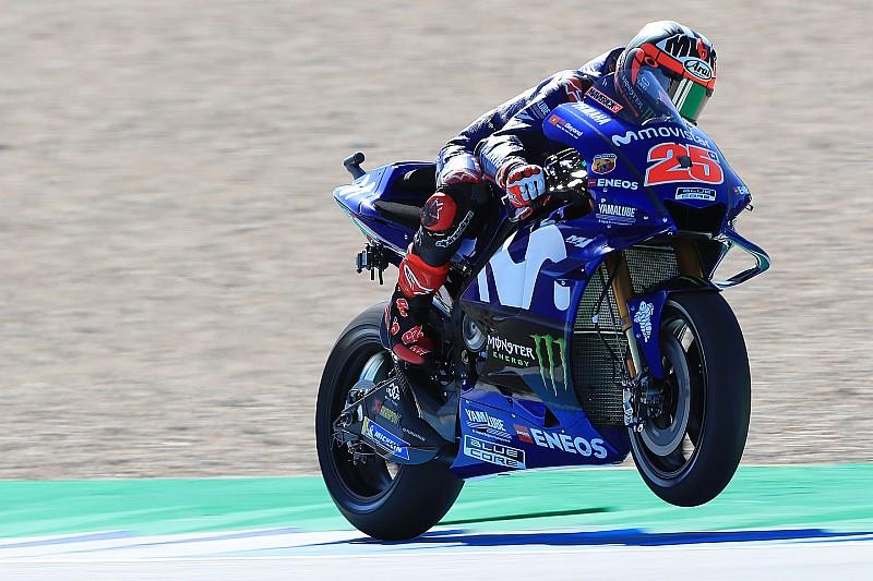 Assen, Libere 2: Vinales porta in alto la Yamaha davanti al terzetto Iannone, Petrucci e Rossi