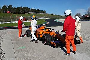 Formel 1 Testbericht Formel-1-Test Barcelona: Turboschaden stoppt McLaren