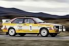 Auto Audi rend hommage à la Quattro Sport de 1984