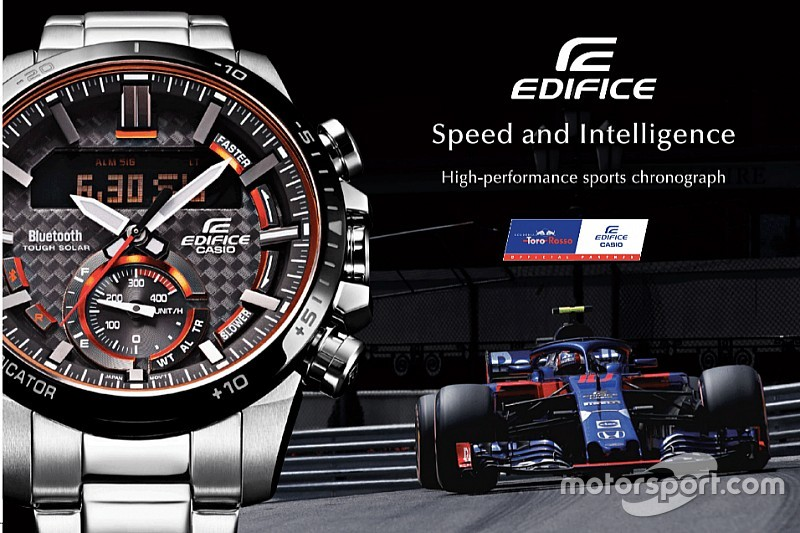 Casio EDIFICE ECB800: Giving new insight to race fans