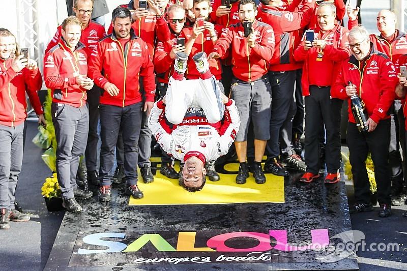 Loeb arriesgó y volvió a la victoria en el Rally Mundial