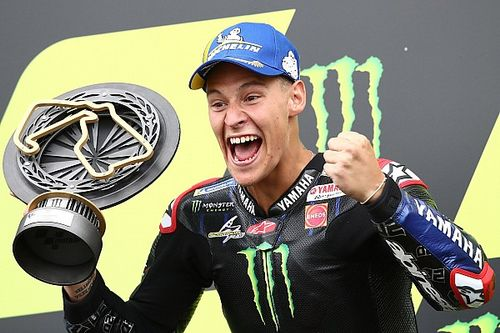 British MotoGP: Quartararo wins, Espargaro puts Aprilia on podium