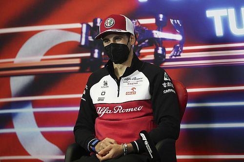 F1: Giovinazzi admite pressão por não ter assinado com Alfa Romeo para 2022