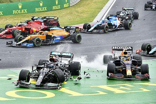 Macaristan GP, yaşanan kazaların ardından durduruldu!