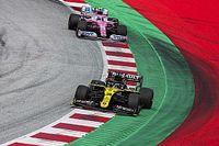 国际汽联接受雷诺对Racing Point赛车合法性的抗议