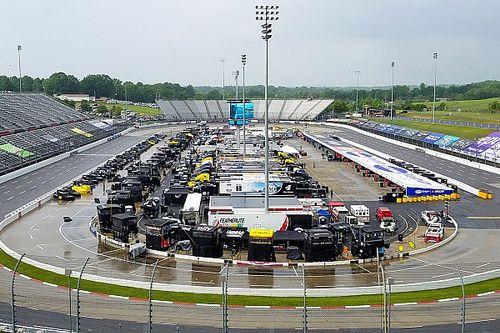 NASCAR testing rain tyres at Martinsville Speedway