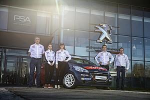 Peugeot Sport ancora coi giovani nell'ERC: ecco Catie Munnings e Yohan Rossel