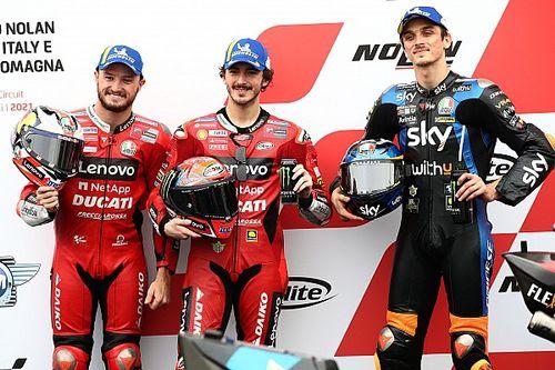 La grille de départ du GP d'Émilie-Romagne MotoGP