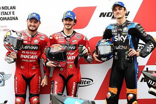 MotoGP: Com Bagnaia na pole e Quartararo em 15º, confira o grid de largada para o GP da Emilia Romagna