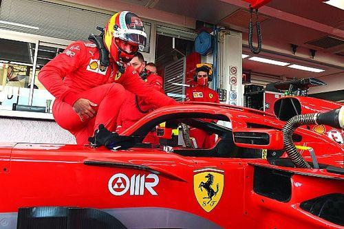 """Sainz na eerste werkdag bij Ferrari: """"Dag om nooit te vergeten"""""""
