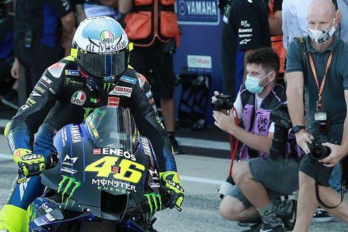 Test Misano: Yamaha prova con Rossi un nuovo scarico