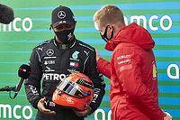 """F1: Ricciardo diz que capacete de Schumacher dado a Hamilton é """"um dos presentes mais legais do esporte"""""""