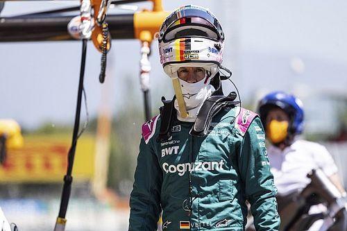 Vettel Minta Aston Martin Perbesar Efek Downforce AMR21