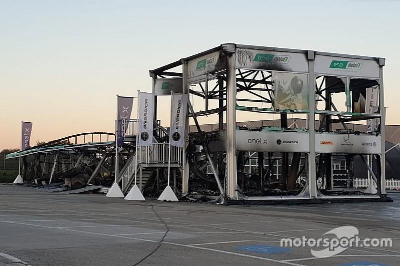 MotoE cancela su primera carrera tras el incendio en Jerez