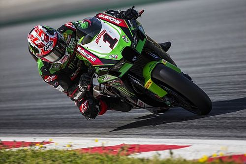 Test SBK, Aragon: Rea subito al top con la Kawasaki