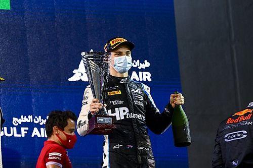 "Piastri labels Bahrain F2 win ""craziest"" of his career"