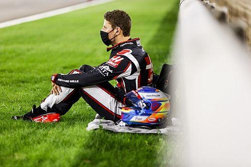 Grosjean seguirá por mais uma noite no hospital mas mira retorno em Abu Dhabi