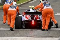 Видео: мотор на болиде Формулы 2 зрелищно полыхнул в тренировке