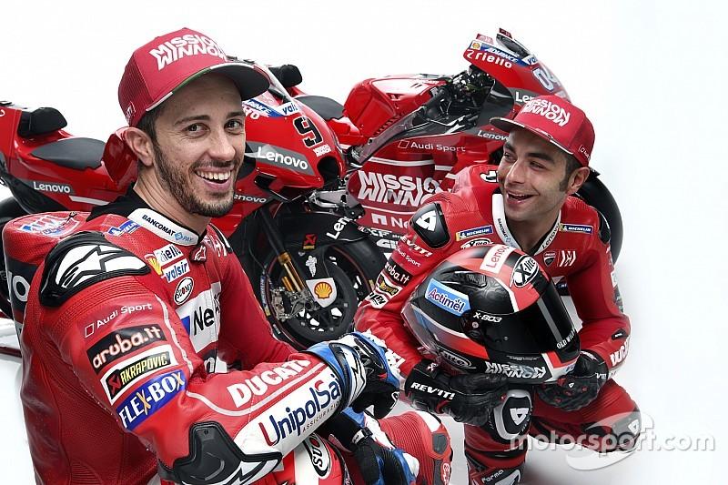 Simulation de course à deux et travail d'équipe chez Ducati