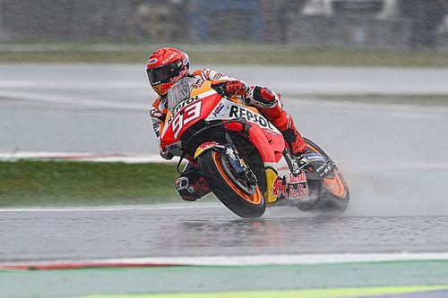 """Márquez: """"El podio en Aragón fue como una victoria para Honda; nos estimula a seguir"""""""