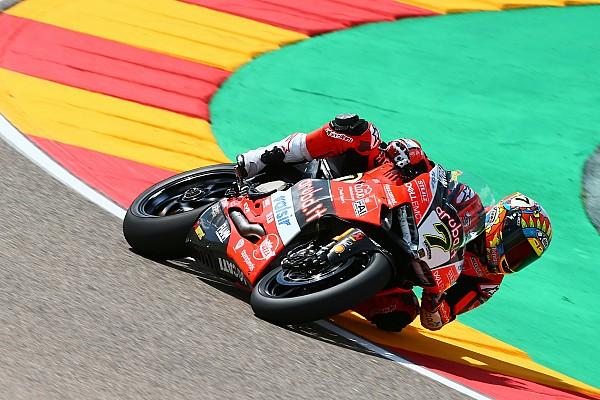 Superbike-WM Rennbericht WSBK in Aragon: Davies bezwingt Rea und Melandri