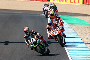 World Superbike Race report Jerez WSBK: Rea equals Bayliss with 14th win of 2017