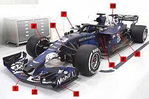 Formule 1 Analyse Technique - Ce que nous apprend la Red Bull RB14