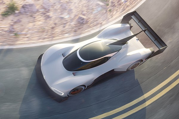 Hillclimb Breaking news Volkswagen releases first images of electric Pikes Peak car