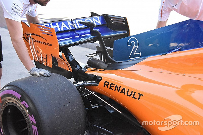 McLaren: migliorato il raffreddamento sotto al cofano
