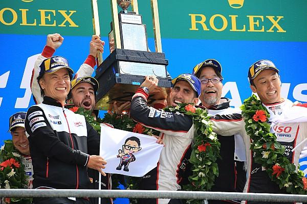 Le Mans チーム一丸。トヨタワンツーにTMG村田社長「君が代を流せて良かった」