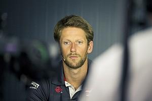 Nouvel accident pour Grosjean: