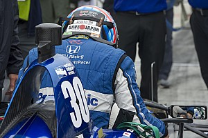 IndyCar 速報ニュース 佐藤琢磨「今の位置にはまるで満足していない。明日は良いタイムを」