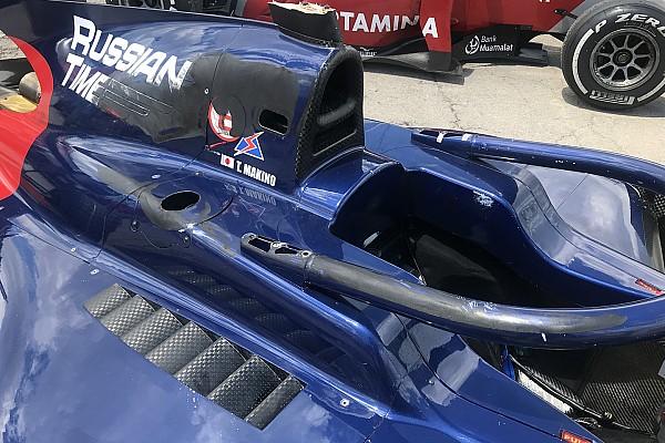 فورمولا 2 أخبار عاجلة فورمولا 2: ماكينو يعترف بأنّ الطوق أنقذ حياته في حادثة سباق برشلونة الثاني