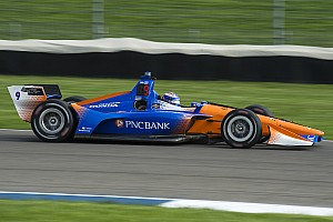 IndyCar Practice report Indy GP: Dixon leads Power in warm-up