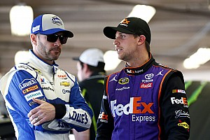 NASCAR Cup Breaking news Johnson on Hamlin: