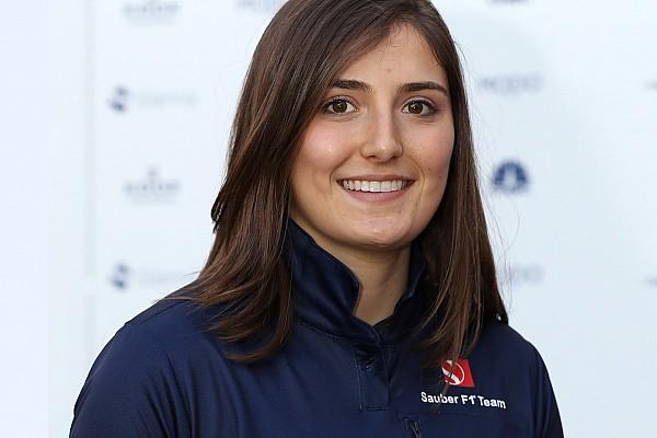 Tatiana Calderón nuova development driver del team Sauber