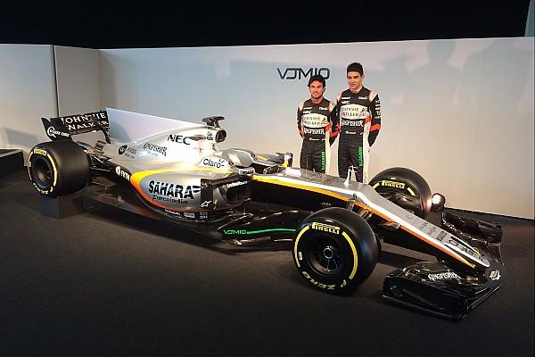 Force India desvela su VJM10 para 2017