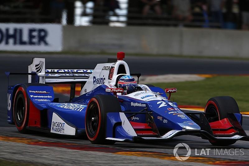 【インディカー】佐藤琢磨「苦しい週末で、苦しいレースだった」
