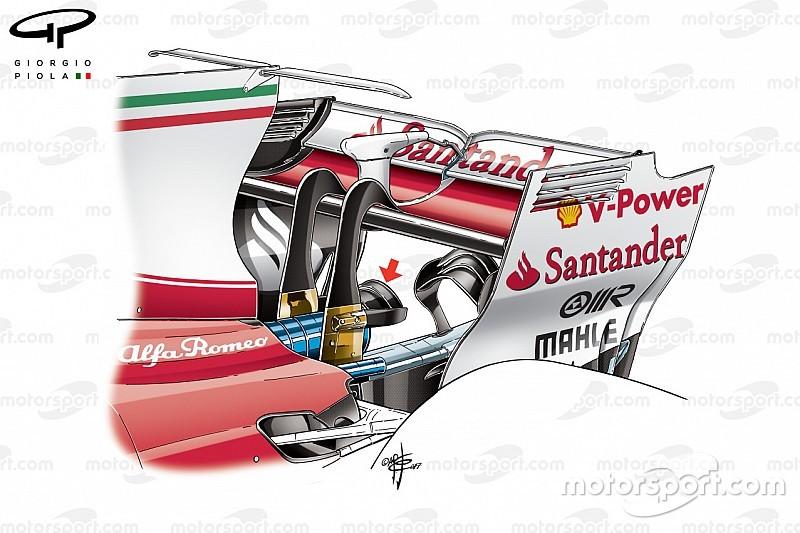 Технический анализ: двойное «сиденье обезьянки» у Ferrari