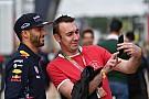 Wie Vettel: Ricciardo hat etwas gegen Selfies