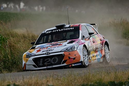 WRC star Neuville rolls out of Rally Ypres lead