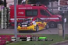 WTCC Video: Tom Coronel chocó con una camioneta de bomberos