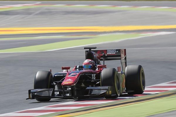 فورمولا 2 تقرير السباق ماتسوشيتا يستغلّ خطأ لاتيفي ليفوز بالسباق الثاني للفورمولا 2 في برشلونة