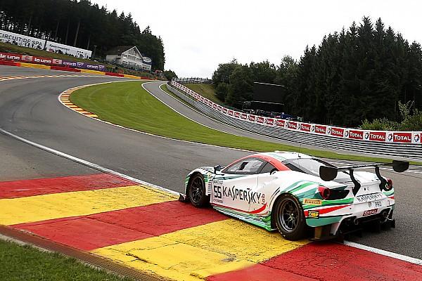 Ferrari logra la pole position para las 24h de Spa por 57 milésimas